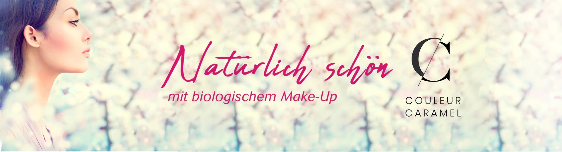 Natürlich schön mit biologischem Make-up